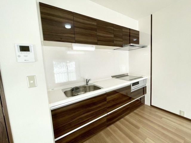 料理がしやすいシステムキッチン!より効率的に、楽しくお料理できるキッチンです♪