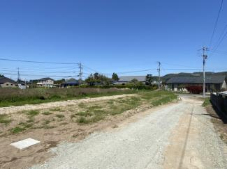 【前面道路含む現地写真】薩摩川内市永利町売地