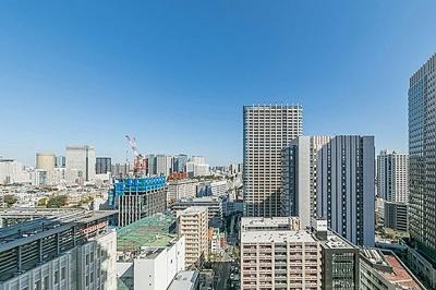 地上30階建の21階部分につき、眺望良好です。