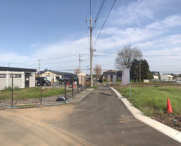 【前面道路含む現地写真】野田市目吹 全4区画