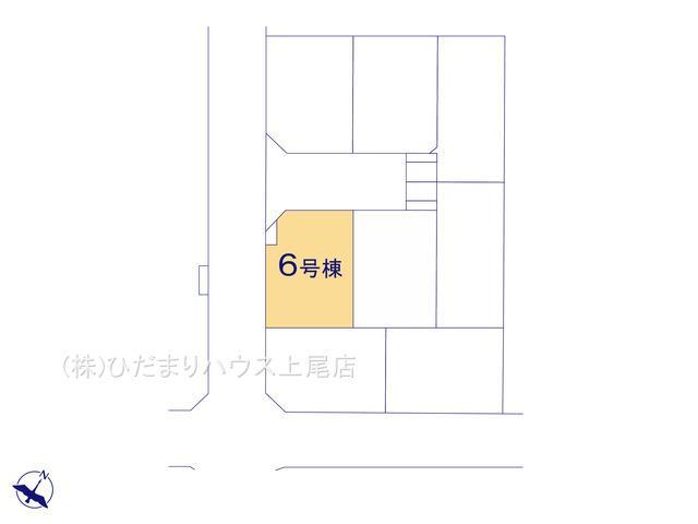 【区画図】上尾市五番町 新築一戸建て 06