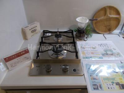 ジオエント巣鴨のキッチン(二口コンロ付き)