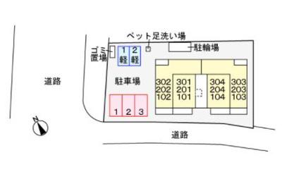 【区画図】クレール パル
