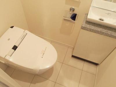 【トイレ】ディームス麻布狸穴町