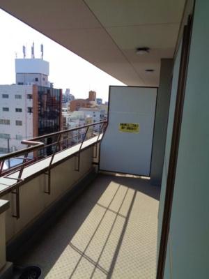 【バルコニー】昭和町エクセルハイツ