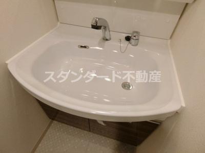 【独立洗面台】プレサンス大阪天満リバーシア