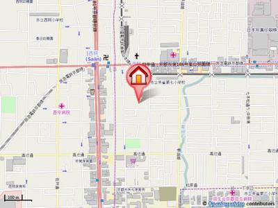 【地図】シェルブール西院