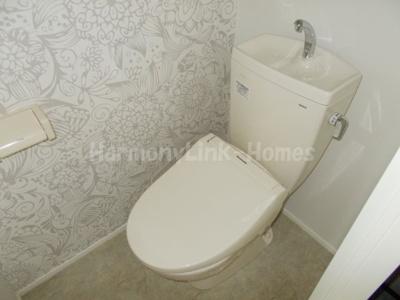 ハーモニーテラス荒川の落ち着いたトイレです(別部屋参考写真)