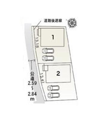 【区画図】豊明市沓掛町掛下 新築戸建全2棟 1号棟 仲介手数料無料