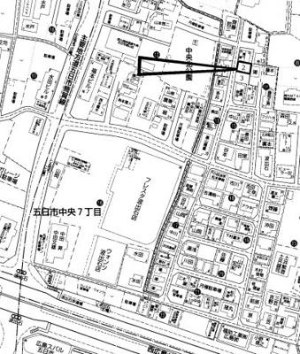 【区画図】佐伯区五日市中央7丁目