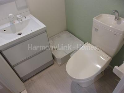 ハーモニーテラス立石Ⅱの落ち着いたトイレです☆