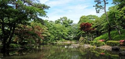 有栖川宮記念公園(公園)まで457m