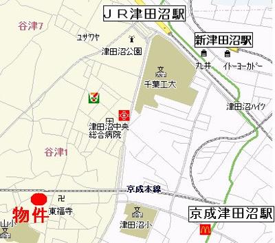 【地図】エステコート弐番館