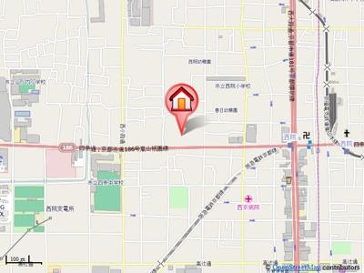 【地図】京悠館