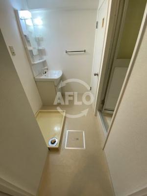 ICマンション 洗面脱衣室