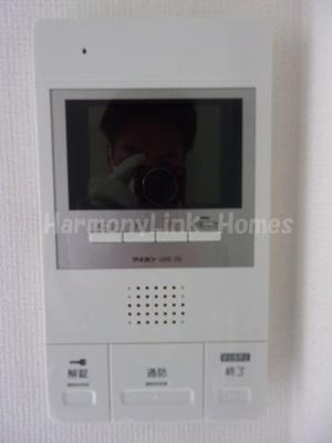 ソフィアポメロのTV付インターホン