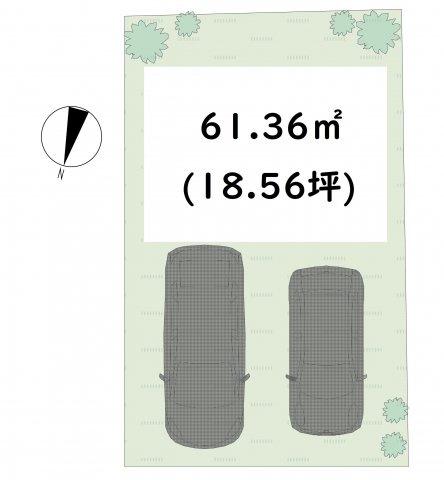 駐車場二台可能です♪