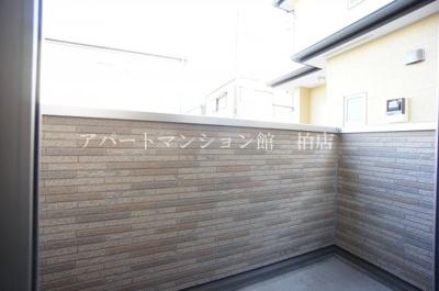 【バルコニー】大室アパート