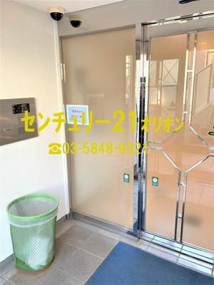 【エントランス】ダイヤコート豊玉北