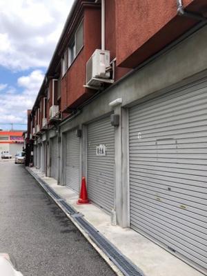 【外観】庄内栄町シャッター付きガレージ