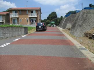 前面道路6m以上あるのでとてもいい条件です。