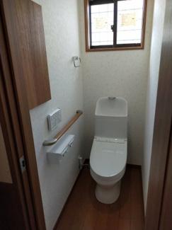 ゆったりしたトイレ