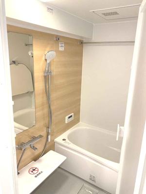 浴室も新調されているため、気分よくご入浴ができます♪水まわりが綺麗だと気持ちも違いますね◎