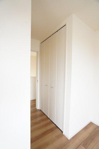 【同仕様施工例】各居室クローゼットありますのですっきり片付けられます。