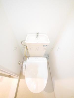 【トイレ】マンション築山第5