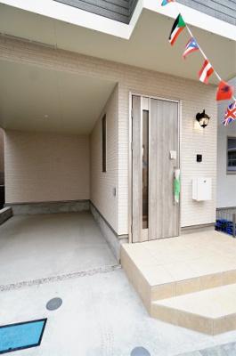 【玄関】新築一戸建て 南浦和1丁目