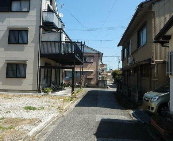 【前面道路含む現地写真】塩田町