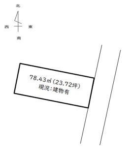 【土地図】醍醐槇ノ内町売土地