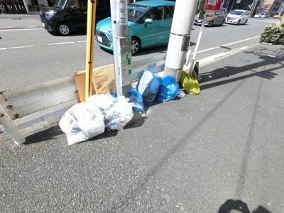 ゴミ置場です。