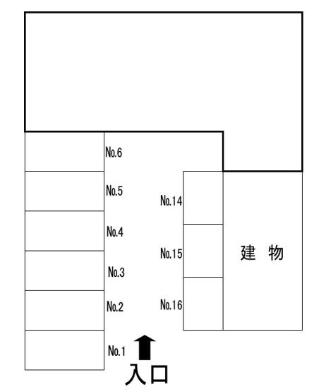 【区画図】貴船町宮野駐車場