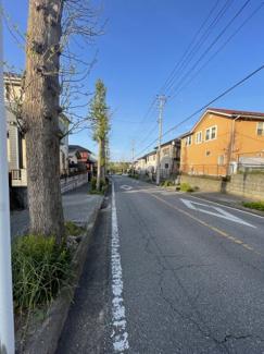 【前面道路含む現地写真】市原市桜台 売地 内房線姉ケ崎駅
