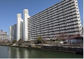 【外観】関目北すみれハイツ2号棟