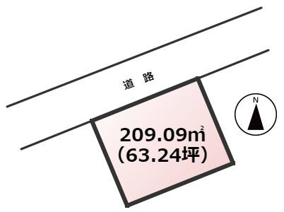 【土地図】南区鶴田4丁目土地