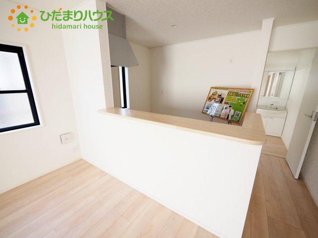 オープンタイプのキッチンです。
