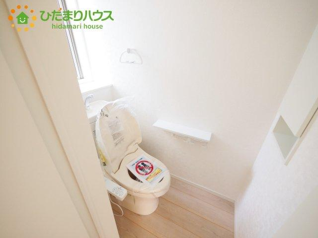 【トイレ】牛久市南第21 新築戸建 2号棟