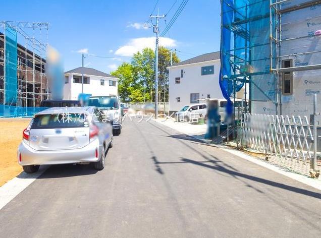 【前面道路含む現地写真】牛久市南第21 新築戸建 3号棟