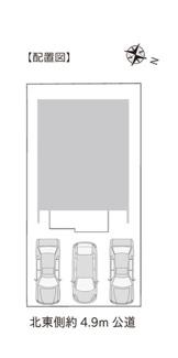 【区画図】新築 新潟市中央区和合町3丁目A