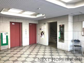 エレベーターは2基設けられております♪