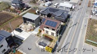 太陽光発電のある内外装綺麗な中古住宅