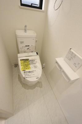 ゆったりとした空間のトイレです:建物完成しました♪♪毎週末オープンハウス開催♪八潮新築ナビで検索♪