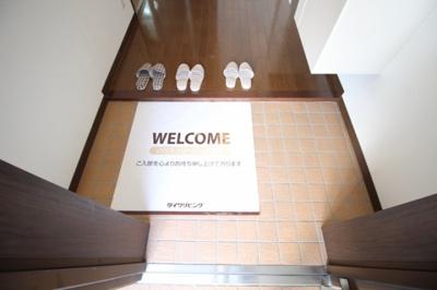 【玄関】グレイスホームA棟