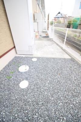 【庭】グレイスホームA棟