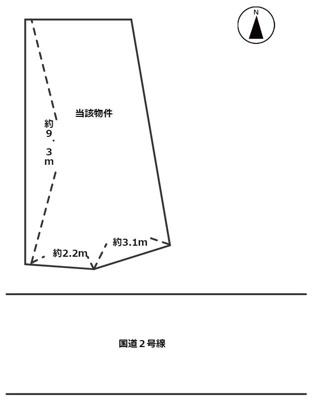 【区画図】須磨浦通4丁目 貸地