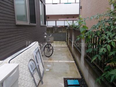 ハーモニーテラス南長崎Ⅳの駐輪スペース