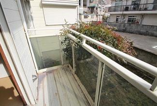 【バルコニー】兵庫県川西市花屋敷1丁目一棟アパート