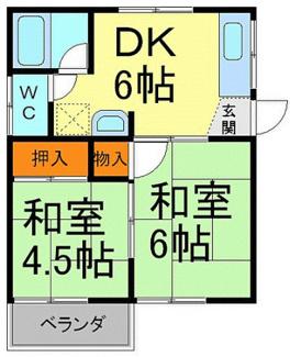 【間取り】兵庫県川西市花屋敷1丁目一棟アパート